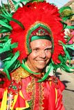 Colourful fiesta in Cartagena, Colombia royalty free stock photo