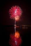 Colourful firework Stock Photos