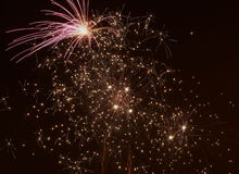 Colourful Fireworks Royalty Free Stock Photo