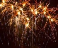 Colourful Fireworks Stock Photos