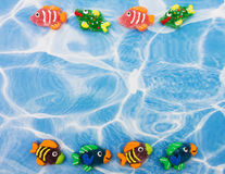 Colourful Fish Border Royalty Free Stock Image
