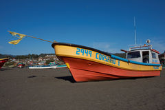 Colourful Fishing Boat Stock Photography