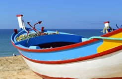 Colourful Fishing Boat Royalty Free Stock Photos