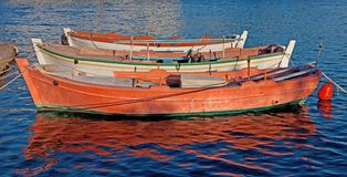 Colourful Fishing Boats Royalty Free Stock Photography