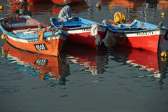 Colourful Fishing Boats Royalty Free Stock Photo