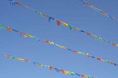 Colourful flags Royalty Free Stock Images