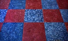 Colourful floor tiles. Royalty Free Stock Photos