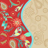 Colourful Floral Background Royalty Free Stock Photography