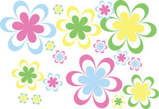 Colourful flower Stock Images