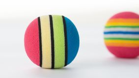 Colourful Foam Balls. Stock Photos
