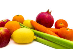 Colourful Food Royalty Free Stock Photos
