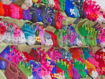 Colourful Footwear Stock Image