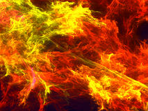 Colourful fractal background - abstract digitally generated imag. Colourful fractal background - abstract computer-generated image. Digital art: chaos strokes Royalty Free Stock Image