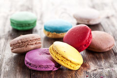 Colourful french macaron. Stock Images