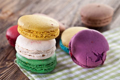 Colourful french macaron. Royalty Free Stock Image