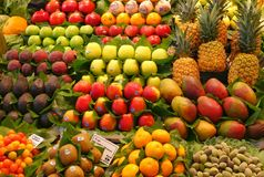 Colourful fruits Royalty Free Stock Images