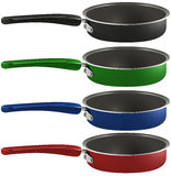 Colourful frying pans Royalty Free Stock Image