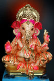 Colourful Ganesh. This God of knowledge and the remover of obstacles is also the older son of Lord Shiva. Lord Ganesha is also called Vinayak ( knowledgeable ) stock photo