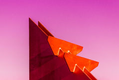 Colourful Geometry Royalty Free Stock Photography