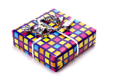 Colourful gift. Royalty Free Stock Image