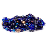 Colourful glass beads Stock Photos