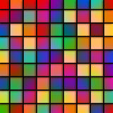 Colourful Glass Tiles Stock Photo