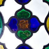 Colourful glass window Royalty Free Stock Image