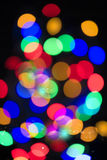 Colourful glowing lights Royalty Free Stock Images
