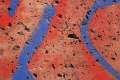 Colourful graffiti close up Stock Photo