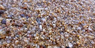 Colourful gravel Stock Photography