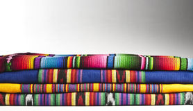 Colourful Guatemalan Fabrics Royalty Free Stock Images