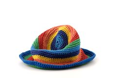 Colourful hat Royalty Free Stock Photos