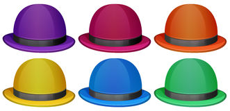 Colourful hats Stock Photography