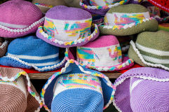 Colourful hats Royalty Free Stock Images