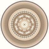 Colourful Henna Mandala Stock Images