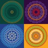 Colourful Henna Mandala Royalty Free Stock Photos