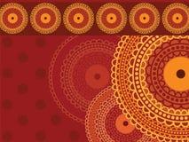 Colourful Henna Mandala Background Royalty Free Stock Photo