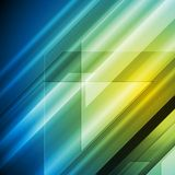 Colourful hi-tech vector background Royalty Free Stock Photos