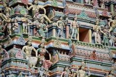 Colourful hindu temple Stock Photo