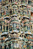 Colourful hindu temple Stock Photo