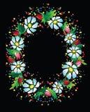 Colourful hollyday kwiat rama Fotografia Royalty Free
