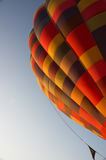 Colourful hot air balloon Stock Images