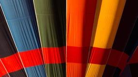 Colourful hot air balloon detail royalty free stock photo