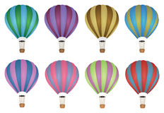 Colourful Hot Air Balloon Vector Royalty Free Stock Image