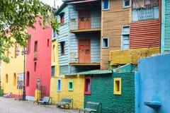 Colourful house at La Boca Royalty Free Stock Photography