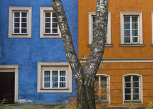 Colourful House Stock Photography