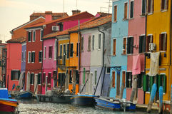 Colourful houses Royalty Free Stock Photo