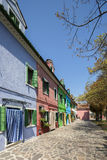 Colourful houses in Burano Royalty Free Stock Photos