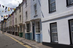Colourful Houses in Chepstow Royalty Free Stock Photos