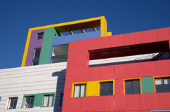 Colourful Houses Stock Images